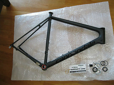 Cannondale SuperSix EVO Nano Carbon Black Inc. Rahmen 56 NEU