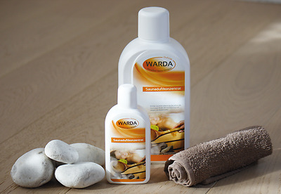 Sauna Infusion Concentrate 200 ml Bottle, 60 popular Scents of Warda Oil