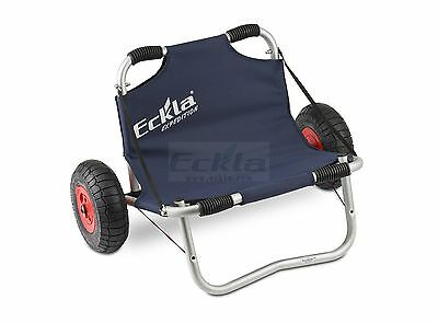 Eckla Kayak trailer Expedition 260 Boat cart Canoe Transport with seat