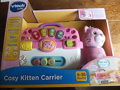 VTech Baby - Cosy Kitten Carrier - Childs Playset - Suitable Ages 9-36 Months