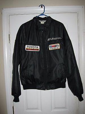 Vintage Snap On Toyota Racing Car Long Beach Grand Prix Jacket Sz L tool