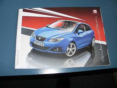 Seat Ibiza Sc   Car Brochure  From  April  2009   Free Uk Post And Packing