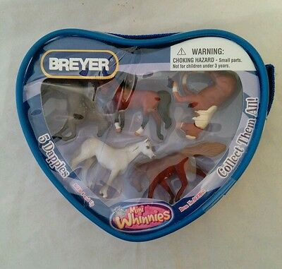 Mini Whinnies Breyer 5 Dapple's Collectible Horses