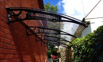 Polycarbonate DIY Cantilever Canopy 1270x 7000mm/ Garden Shed/Shelter/Walkways