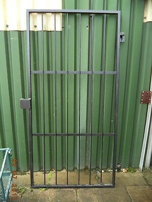 Steel Security Gates/Grilles With Padlock shroud for a shutter padlock