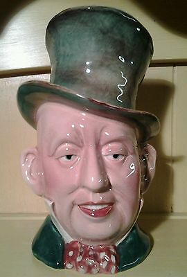 Vintage Beswick Mr Micowber character jug 1st edition no. 310