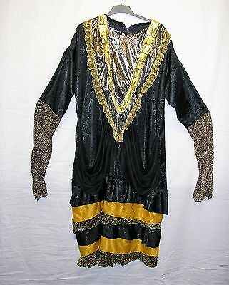 Panto Dame / Evil Sorceress Costume for Stage / Theatre / Fancy Dress - XXL