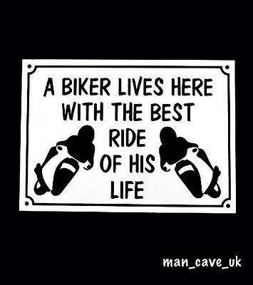 Funny Sign - Wall Plaque - Man Cave - Workshop - Garage - Shed