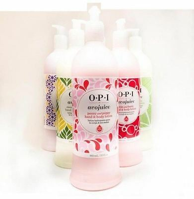 OPI Avojuice 30ml 250ml 600ml 960ml - All Favors Available
