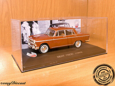 Seat 1500 Brown 1:43 1963 Mint With Box Art!!