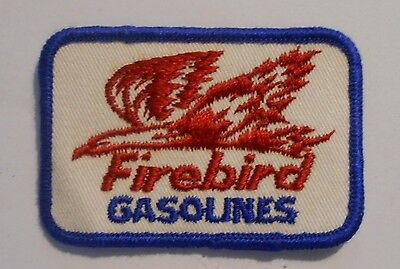 Firebird Gasoline Patch Embroidered Oil 3 inches Original Vintage