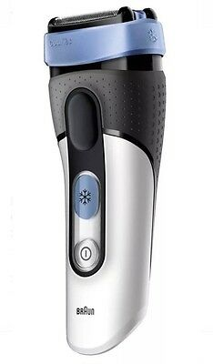 Braun CoolTec CT2s-w Electric Cordless Rechargeble Wet Dry Shaver Sensitive Skin