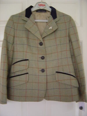 """*NEW* Childs/Maids Caldene Hacking Show Jacket,100% Pure wool 30"""" side vents"""