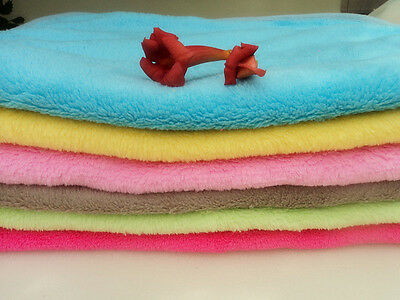 Funny Coral Soft Warm Pet Puppy Dog Cat Fleece Blanket Quilt Bed Cushion Pad SMS
