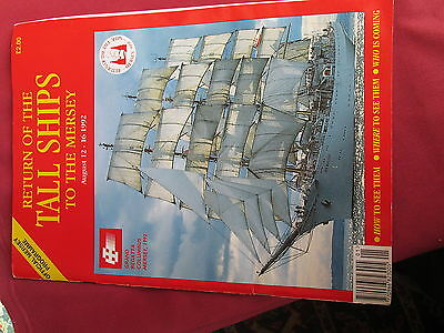 Return of the Tall Ships to the Mersey programme 1992