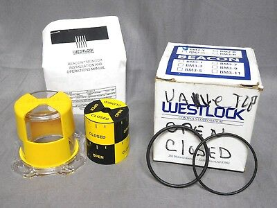 WESTLOCK * Open/Closed BEACON POSITION INDICATOR * P/N: BM2-Y * (NEW IN BOX)