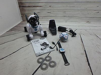 WowWee CHiP Robot Toy Dog - White SEE DETAILS