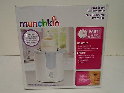 Munchkin High Speed Bottle Warmer  mk0062 Rev1