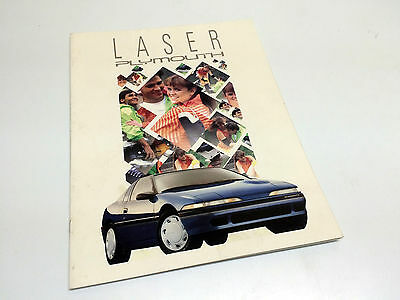 1991 Plymouth Laser Brochure