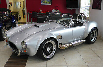 1965 Shelby Cobra 2 door NEW BACKDRAFT RACING 1965 - Iconic 427 engine @ 480 Horsepower - Wickedly Fast!