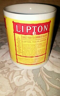 Lipton's Finest Tea Ceramic Mug