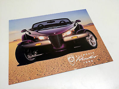 1999 Plymouth Prowler Information Sheet Brochure