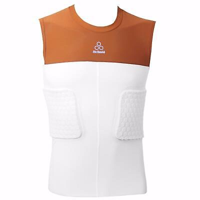 McDavid MD 7910Y Youth 3 HexPad Padded Body Shirt Gold Youth Large