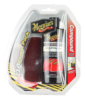 Meguiars Dual Action Ultimate Compound Power Pack G3501INT