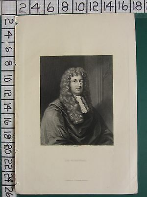 c1840 ANTIQUE PRINT ~ LORD WILLIAM RUSSELL