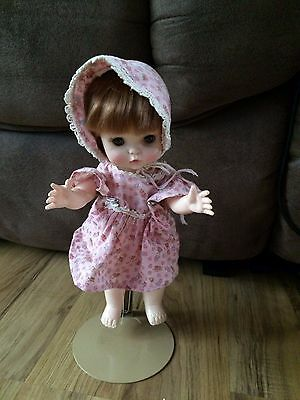 Vintage 1966 Effanbee Doll With Stand