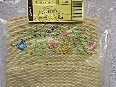 Liner for the 2012 Easter Basket in Flax Material New