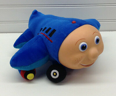 "PBS Kids Jay Jay The Jet Plane 10"" Plush Stuffed Airplane"