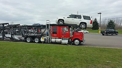 10 car hauler: 07 Western Star & 08 Cottrell auto-transport stinger combo.O.B.O.