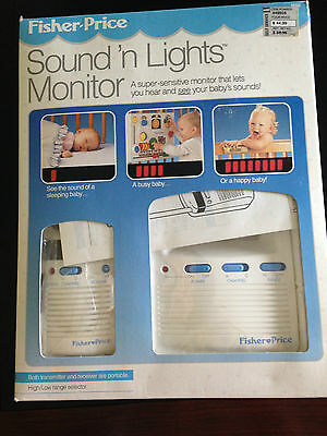Fisher Price Sound N Lights Monitor