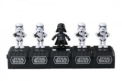 Takara Tomy STAR WARS SPACE OPERA Darth Vader & 4 Storm Troopers With Tracking