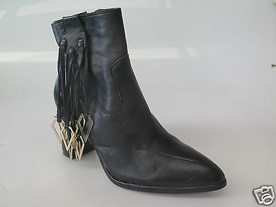 Django & Juliette - new ladies leather ankle boot size 37 #18