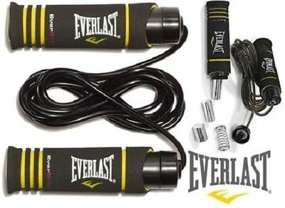 Everlast Cable Weighted Skipping Rope Boxing Fitness