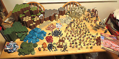 HeroScape Massive Set 644 Pieces inc 1600 Hexes 134 Figures