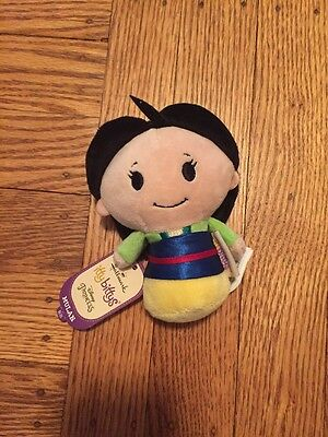 2016 Hallmark Disney Princess Mulan Itty Bitty Bittys Plush Figure!