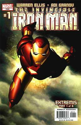 Iron Man #1 (Vol 4)