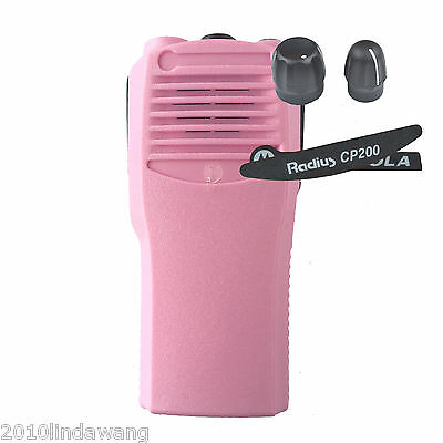 Pink Replacement case Housing cover for Motorola CP200 portable Radio
