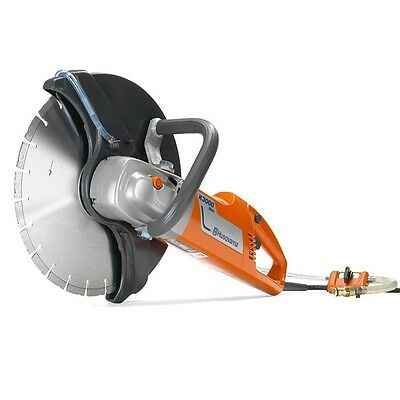 Husqvarna K 3000 Wet Electric Concrete Saw with bonus blades