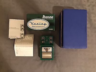 Ibanez TS9DX 4x2 FLEXI Keeley Mod Overdrive/Distortion Guitar Effects Pedal