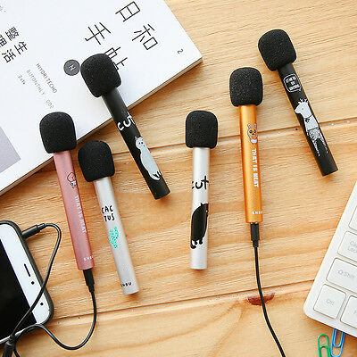 Mini Mobile Microphone Singing Artifact Capacitor Microphone Portable