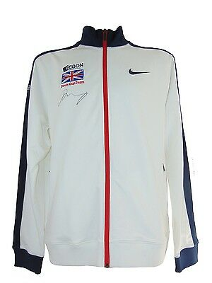 Andy Murray Signed Gb Davis Cup Winners 2015 Player Issue Jacket+Photo Proof