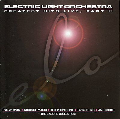 Electric Light Orchestra - Greatest Hits Live Part 2