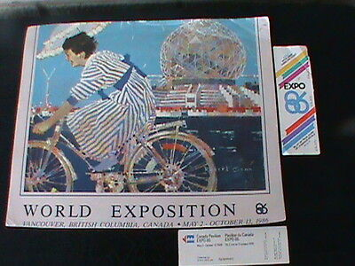 "Original"" Expo 86"" Tickets Plus"" Expo 86"" Poster"