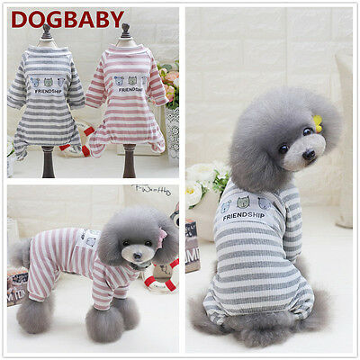 Pet Dog Cat Puppy Sweater Jumpsuit Coat For Small Pet Dog Warm Costume Apparel