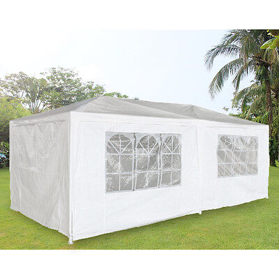 3 X 6M Waterproof Outdoor PE Garden Gazebo Marquee Canopy Party Tent Panana UK