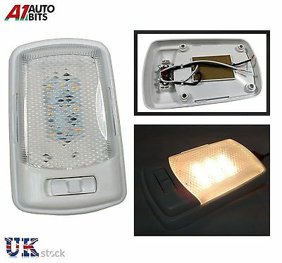 12V Car Rectangle Ceiling Dome Roof Interior Light Lamp 12 Led On/off Switch